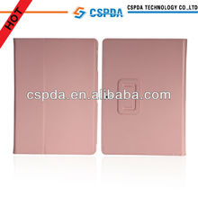 For Samsung galaxy note 10.1 2014 Edition cute pink folio stand pu leather case