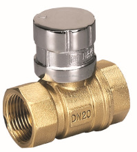 "New female 1/2"" lockable ball valve"