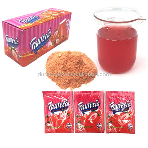 Strawberry Flavored Juice Soft Drink Instant Fruit Juice Powder