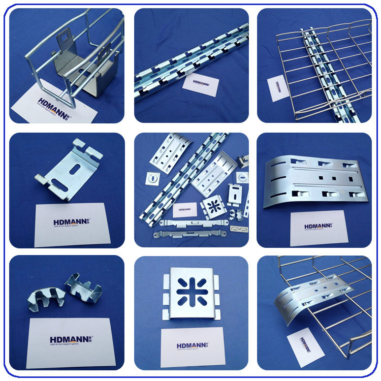 Pre Galvanized Wire Mesh Cable Trays (Straight or Cablofil Type or OEM)