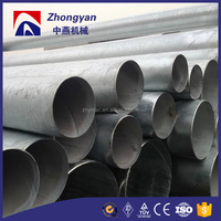 Scaffolding tube 8 inch schedule 20 galvanized steel pipe gi pipe price list
