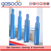 150bar High Pressure Small Portable Oxygen Cylinder I with GB5099