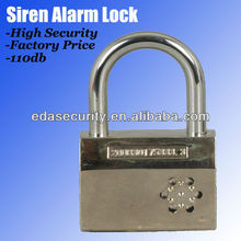 2018 Smart Lock Alarm Padlock Tesa Locks