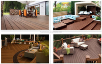 Easy to install balcony flooring wood plastic composite slats wpc furniture