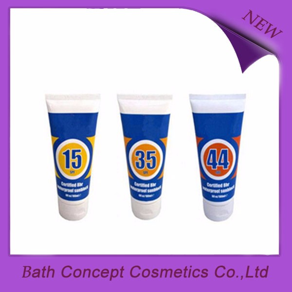 promotional SPF30+ private label sunscreen lotion