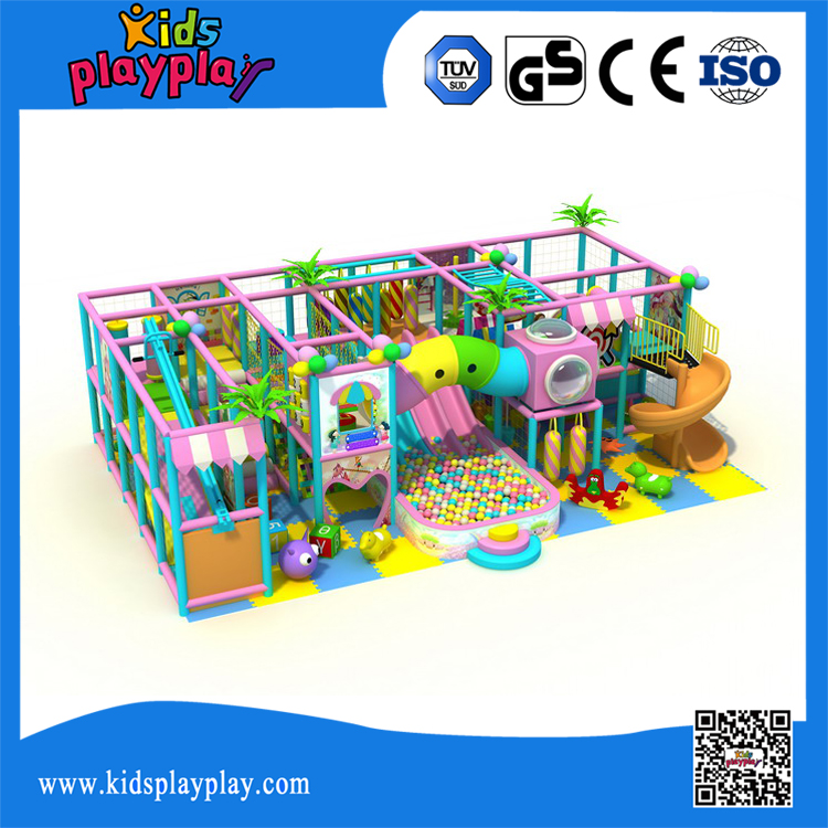 KidsPlayPlay 2017 Cheap Indoor Games Naughty Castle Equipment Playground For Kids