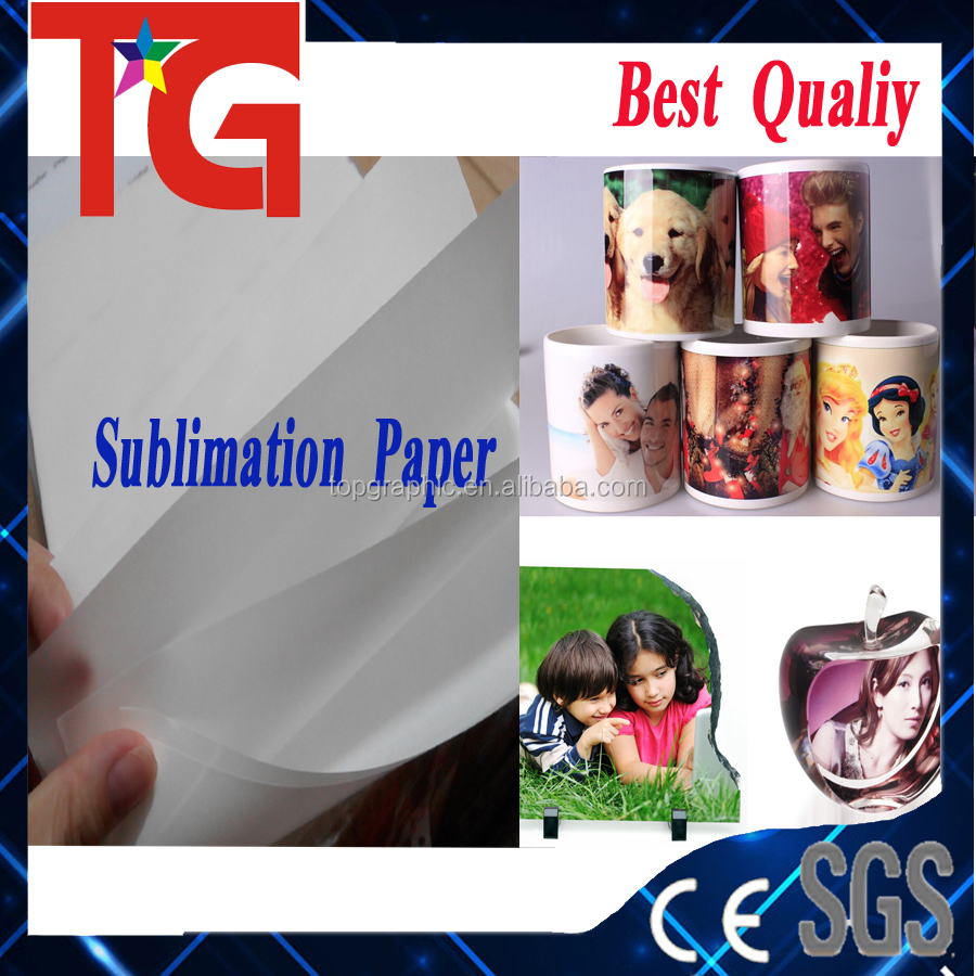 high quality sublimation magic mug printing sublimation paper , No ink remain after printing , FREE sample for test