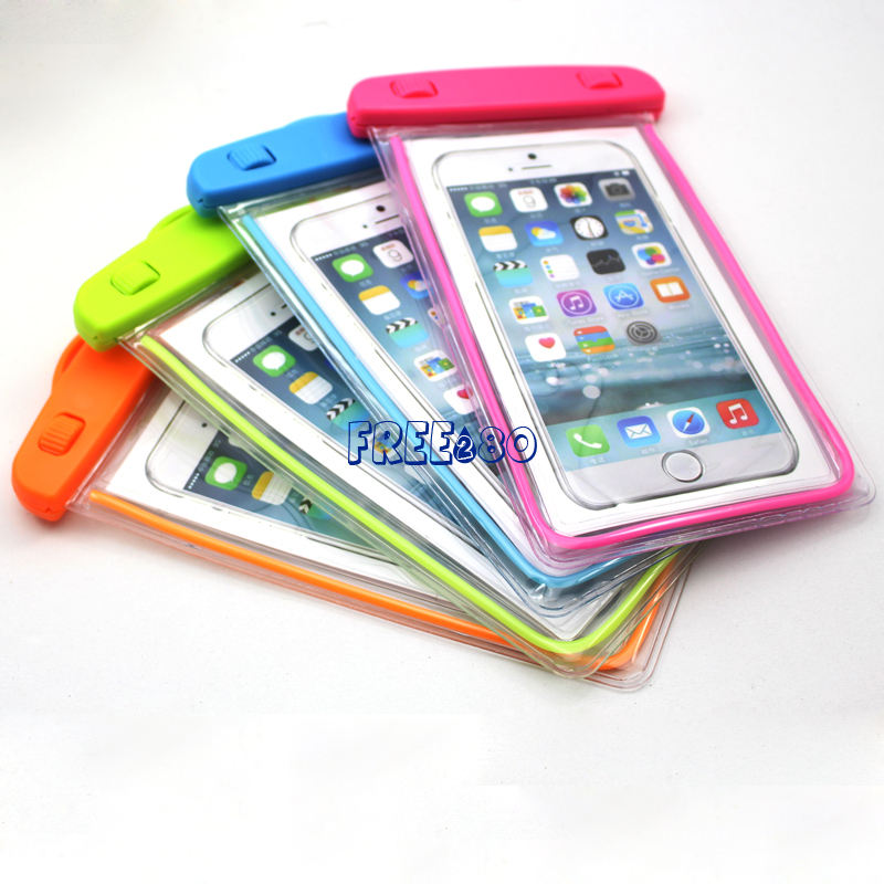 hot selling water resistant bag for iphone 6 plus with different colors