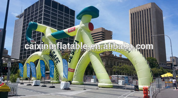 new design Advertising Inflatable Bike Model, Bicycle Inflatable