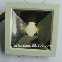 CE,RoHS 10W led square downlight fixture