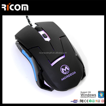 ergonomic LED mouse,6D LED mouse, optical gaming mouse--Shenzhen Ricom GM10