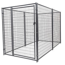 4ft Wx8ft L Modular Welded Wire Kennel