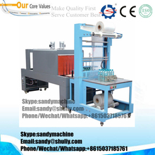 Continuous Side Shrinking and Sealing Machine for vegetables