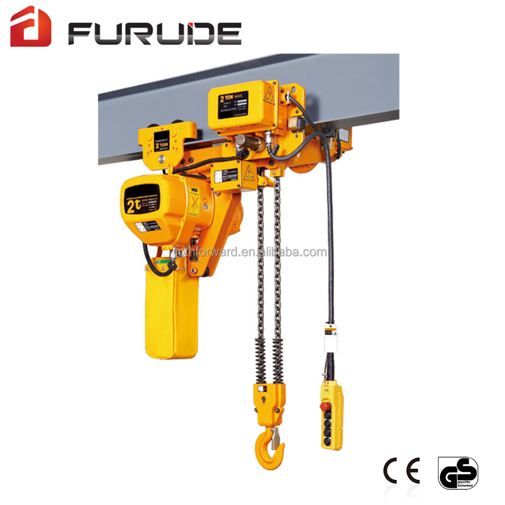 Low price scaffold hoists motorised chain block bridge crane manufacturers