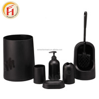 Fashion Design Plastic Bathroom Set Accessories