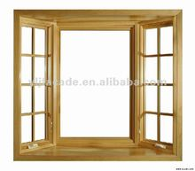 YLJ first class aluminum supplier top hung aluwood composite window