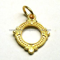 Antique Gold Plated Charm
