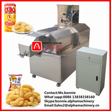 original corn flavor stainless cover rice puff Kurkure Snacks extruder machine/plant/processing line