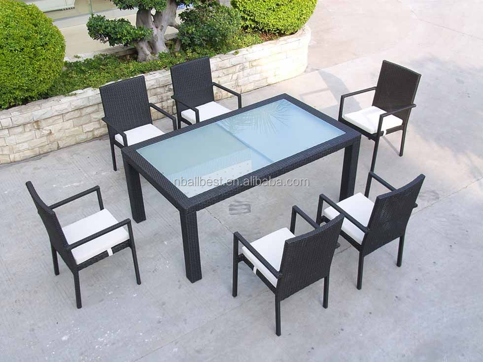 2016 Durable Easy Installation Cast Aluminum Dining Set Outdoor Garden <strong>Furniture</strong>