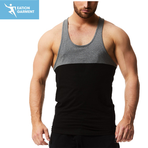 muscle men gym stringer y back tank tops mens
