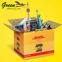 Professional DHL shipping door to door service from China to Iran