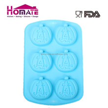 Factory Price Silicone Halloween Pumpkin Cake Mold 3D silicone cake mould