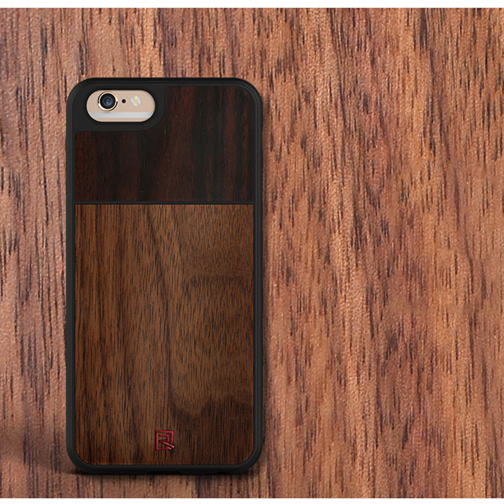 China High Quality Wooden Sandal 5 Inch Mobile Phone Case For Iphone