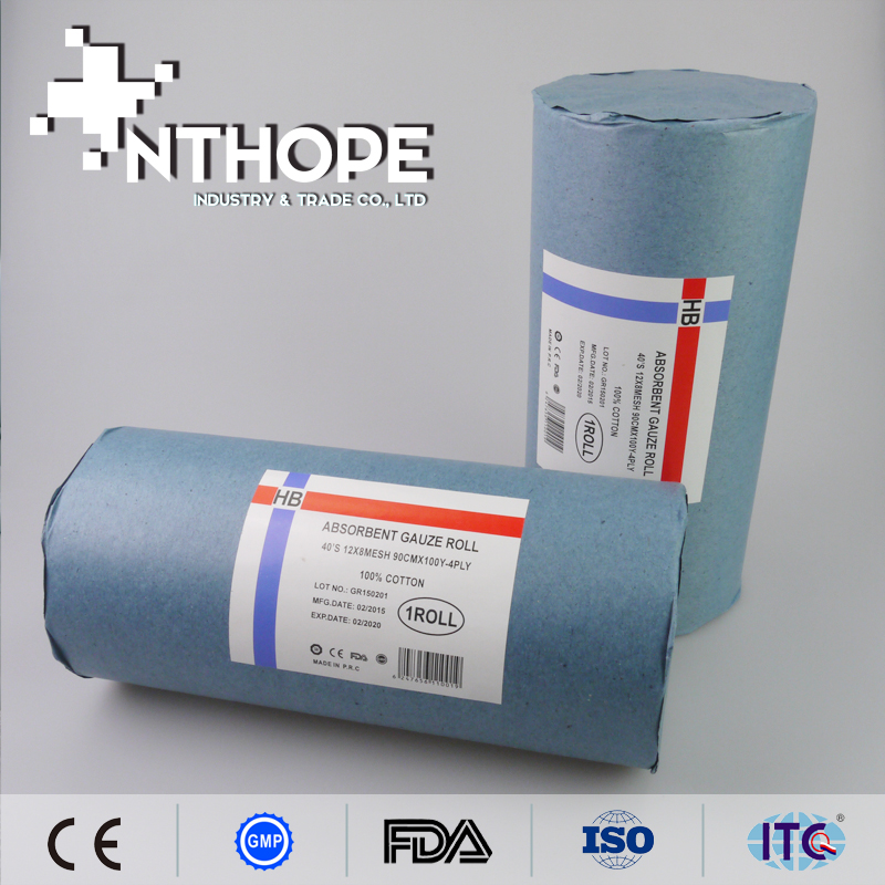 health and medical consumable products absorbent gauze roll