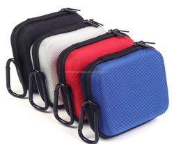 High quality Carrying EVA Case Bag for Voyager Legend Bluetooth & Charger Cable and Garmin Edge GPS
