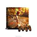 Firmly stick football player vinyl decal skin for ps4