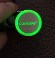 promotional led car charger with lighting logo
