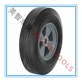 10 inch solid & pneumatic shopping cart wheel