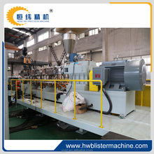 PET sheet single screw plastic extruder price in SHANGHAI
