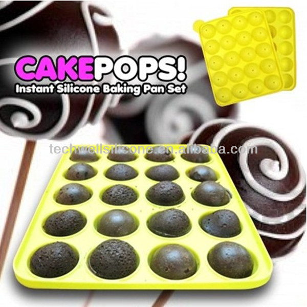 Colorful exclusive silicone microwave safe cake baking pan