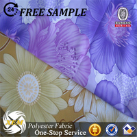 Superior qulaity peach skin fabric sublimation print for swimwear