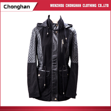Chonghan Latest Designs Women Western-Style Jackets Coats With Cap