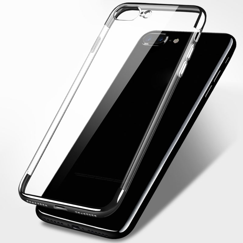High quality special design electroplated phone for iphone 5 / 6 / 7 case