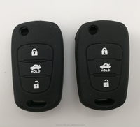 Private label rubber car key case from China
