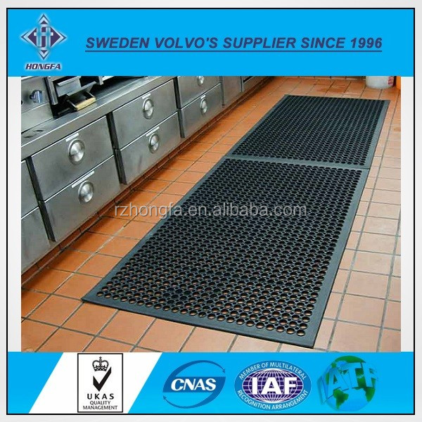 Anti-slip & Oil Resistant Interlocking Rubber Kitchen Mat