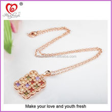 2015 hot selling products fashion jewelry pure gold 24k necklace made in china