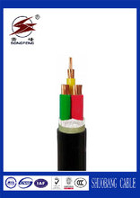 PVC/ Copper/Electric/Rubber/XLPE 4 Core Insulated Power Cable