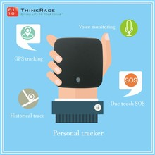 Thinkrace Hidden gps tracker with phone call for Kids Safety