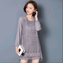 new model ladies smart casual elegant dress