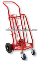 Superior practical 4 wheels metal trolleys