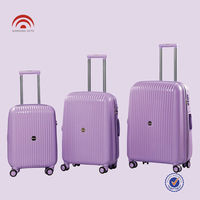 PC Travel Suitcase 3PCS Trolley Luggage