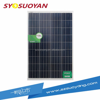 ALIBABA TOP 1 SUOYANG Poly 260W Solar Panel CE TUV Certificates