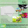 glossy/matte self-adhesive photo paper