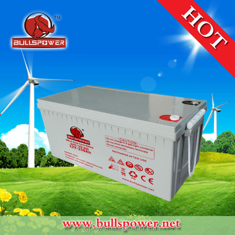 12V250AH price of inverter batteries