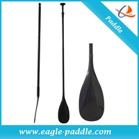 glassfiber shaft outrigger canoe paddle