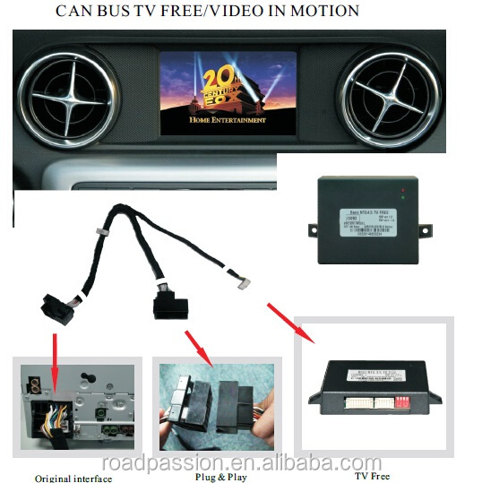 Car ntg4.5 & 5.0 Mercedes Multimedia Free Radio unlock
